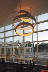 Commerce Township Library atrium