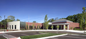 Commerce Township Library exterior