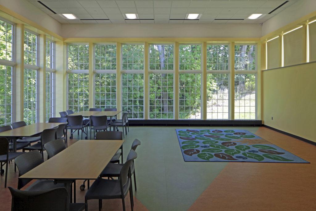 Cromaine District Library interior