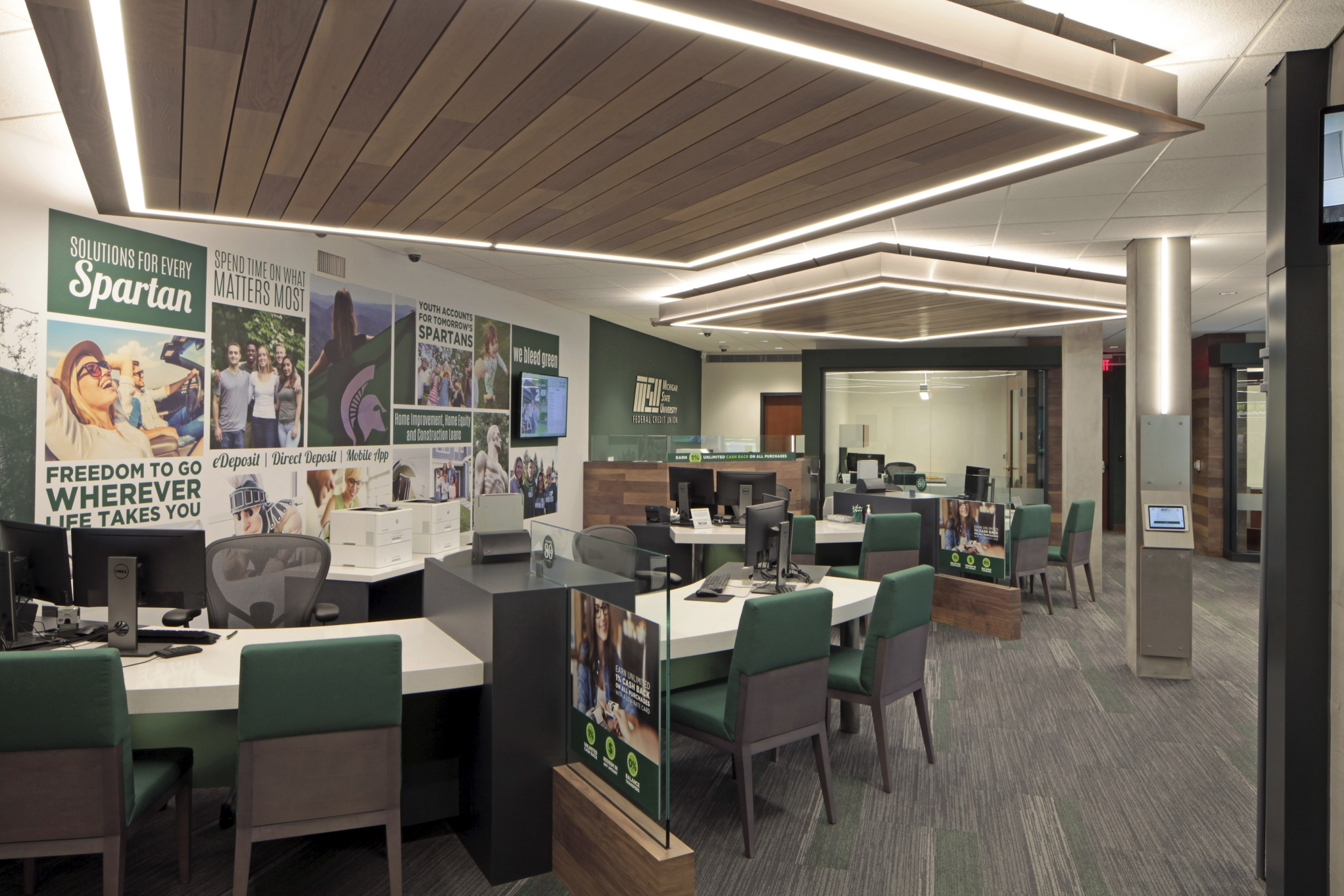 Michigan State University Federal Credit Union, MSU Student Union Branch