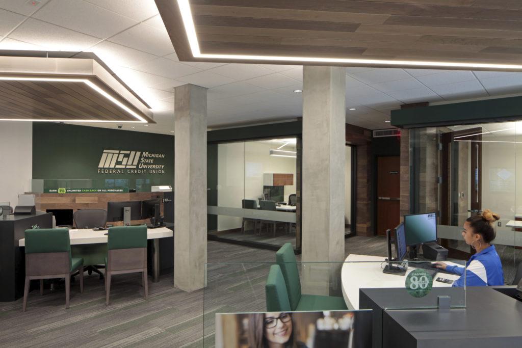 Michigan State University Federal Credit Union, MSU Student Union Branch
